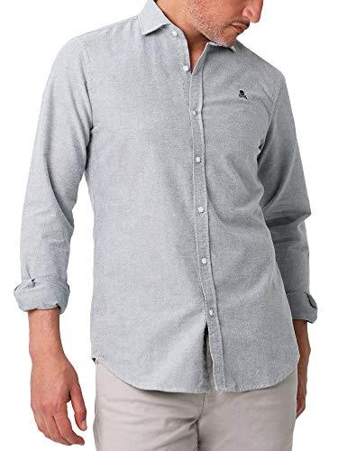 Scalpers Camisa Slim FIT Pinzas - Khaki / 42