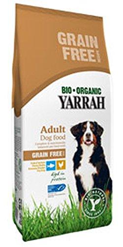 Bio Hundefutter Trocken Huhn und Fisch Getreidefrei 2kg Yarrah