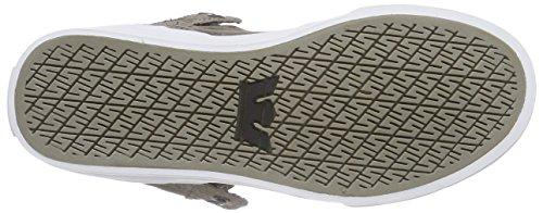 Supra - VAIDER, Scarpe da ginnastica Unisex – Adulto Grau (MOREL / CATHAY SPICE- WHITE MOR)