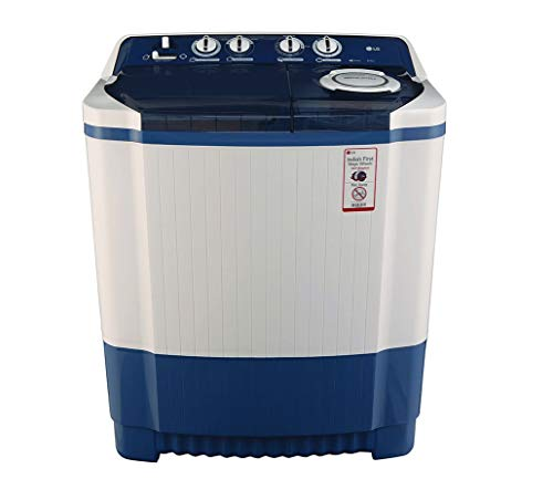 LG 8.0 kg Semi-Automatic Top Loading Washing Machine (P9037R3SM, Dark Blue)