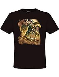 Ethno Designs Wild Horses - Chevaux T-Shirt pour Enfants et Adultes regular fit