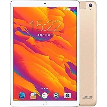 DingSheng Tablet PC con Pantalla de 10,1 Pulgadas con Android 7.0 GPS Bluetooth 4.0 Inalámbrico 8 núcleos RAM 4GB DDR 4 32GB EMMC 4G Llamada