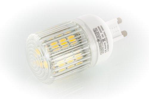 LumenStar® LED G9 Lampe 3,5 Watt - 300lm, 3000K warmweiß, 270° Abstrahlwinkel, ersetzt 30W - Monza