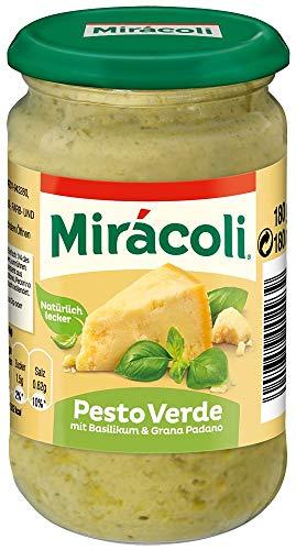 Miracoli Pesto Verde mit Basilikum und Grana Padano, 180g