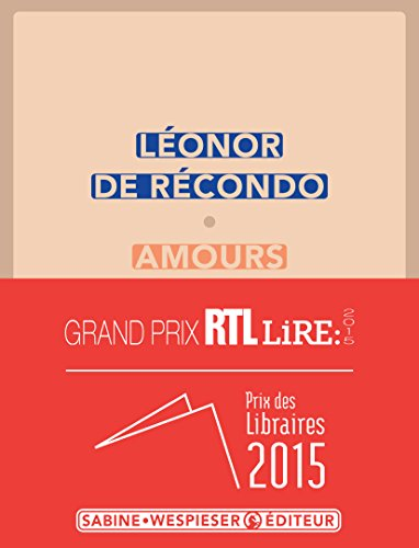 Book's Cover of Amours