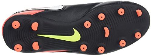 Nike 819233-018, Chaussures de Football Homme Noir (Black/white-hyper Orange-volt)