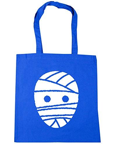 hippowarehouse Halloween Mummy Tote Shopping Gym Beach Bag 42cm 3838, 10Liter Gr. Einheitsgröße, Kornblume (Boys Halloween Costume Beach)