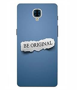 Case Cover Attitude Slogan Printed Multicolor Hard Back Cover For OnePlus 3