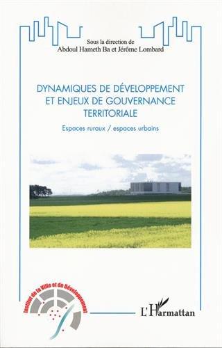 Dynamiques de développement et enjeux de gouvernance territoriale