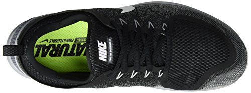 Nike Herren Men's Free Rn Distance 2 Running Sneakers Mehrfarbig (BLACK/WHITE-COOL GREY-DARK GREY)