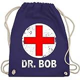 Karneval & Fasching - Dr. Bob Kostüm Kreuz - Unisize - Lila - WM110 - Turnbeutel & Gym Bag