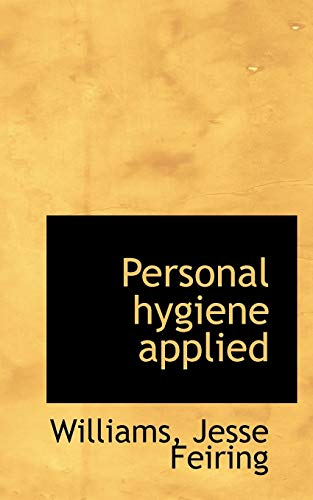 Personal hygiene applied