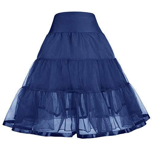 GRACE KARIN Maedchen Retro Petticoat Unterrock 8-9 Jahre CL11035-5