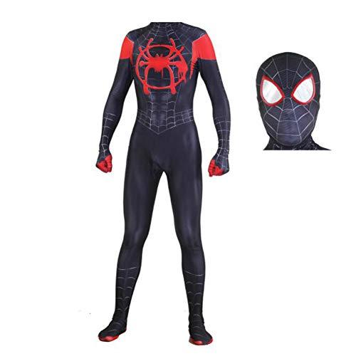 Fanstyle 3D Digitaldruck Spider-Man Onesies Ära Schwarze Spiderman Strampler Cosplay Kostüm All-Inclusive-Strumpfhose