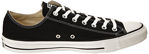converse Ctas Core Ox 015810-70-10, Unisex-Erwachsene Sneaker Schwarz