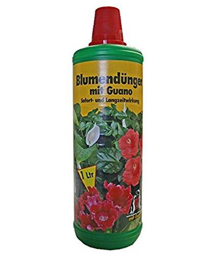 Blumendünger flüssig mit Sofortwirkung