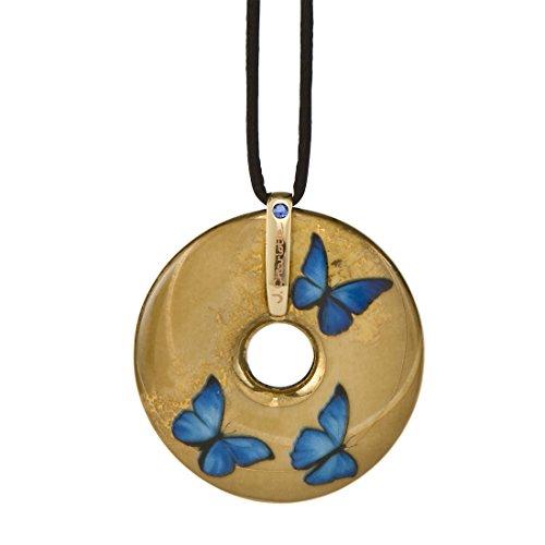 Goebel Artis Orbis Blue Butterflies - Kette Bunt