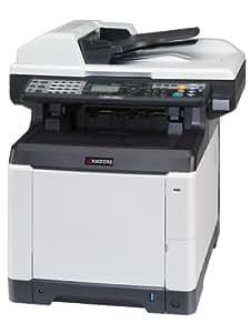 Kyocera ECOSYS M6526cdn Farbmultifunktionssystem (Drucken, scannen, kopieren, faxen, 9.600 dpi, USB 2.0, Duplex, A4) schwarz/weiß