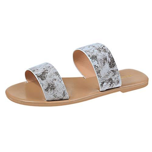 MuSheng Damen Sandals cross band braided Roman shoes summer strap fashion beach slippers flat non-slip Casual Flats Open Toe Vintage Römer Flache Hausschuhe Sandalen Schuhe Braided Wedge Sandal