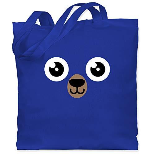 Baby Kostüm Grizzly Bär - Shirtracer Karneval & Fasching - Bär Karneval Kostüm - Unisize - Royalblau - WM101 - Stoffbeutel aus Baumwolle Jutebeutel lange Henkel