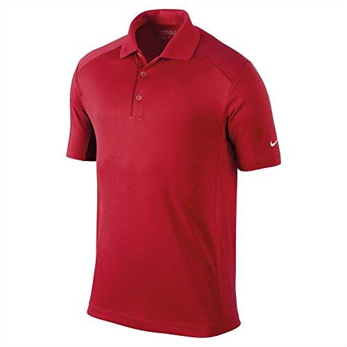 NIKE Herren Polo Hemd Victory Solid Black