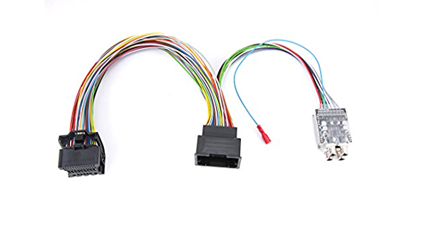 High Low Cinch Adapter Hl Sli4 Plug N Play Opel Elektronik