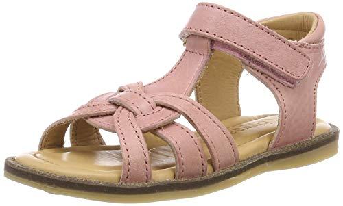 Bisgaard Mädchen 70704.119 T-Spangen Sandalen Pink (Rose 705) 24 EU
