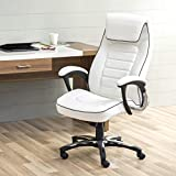 Home Centre Venus Contemporary White Metal Office Chair