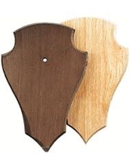 gehörn Tabla para Wild Corzo 19x 12cm puntiagudo con ausfräsung–Claro