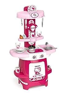 Smoby 024087 jeu d 39 imitation cuisine hello kitty cooky jeux et jouets - Cuisine smoby hello kitty ...