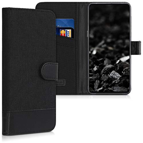 kwmobile Xiaomi Mi Mix 3 Hülle - Kunstleder Wallet Case für Xiaomi Mi Mix 3 mit Kartenfächern & Stand