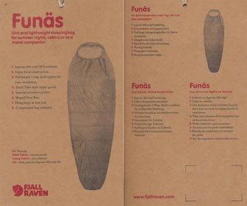 Fjällräven Funäs +9 Grad Long – Kunstfaserschlafsack - 3
