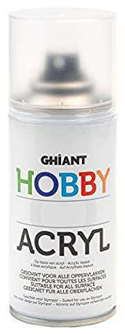Ghiant 150 ml Hobby Colour Spray Can, Glitter Blue