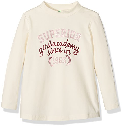 united-colors-of-benetton-3beac-t-shirt-fille-ecru-cream-10-11-ans-taille-fabricant-xl