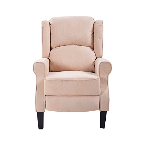 Homcom poltrona massaggiante relax reclinabile funzione riscaldante telecomando 78 × 83 × 101cm beige