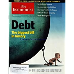 ECONOMIST (THE) du 13/06/2010 - DEBT - THE BIGGEST BILL IN HISTORY - GORDON BROWN LIMPS ON - AMERICA'S LAZY SCHOOLCHILDREN - HOW TO START SAVING THE AMAZON - NETBOOKS DISRUPT COMPUTING - DEATH OF A DRAG QUEEN