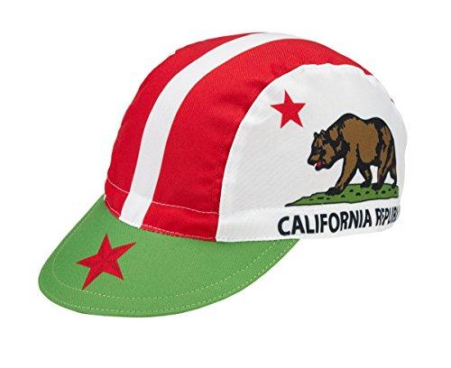 Radmütze California Cap Rennmütze Retro Mütze