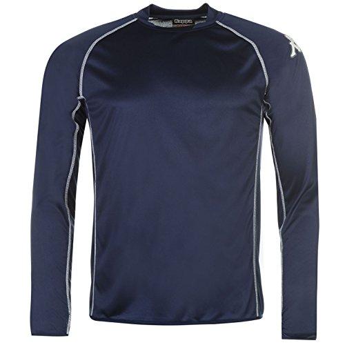 Kappa Masa Herren T Shirt Langarm Unifarben Marineblau Lrg-XLrg (Lrg-print Jersey)
