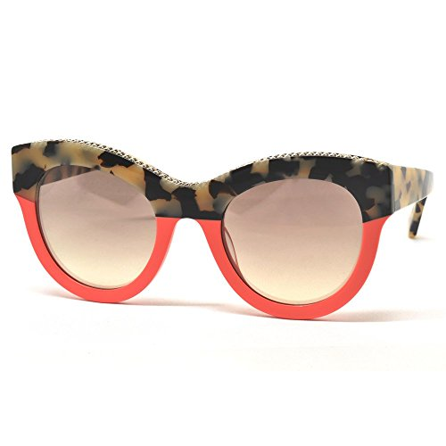 Stella mccartney sc0018s 002, occhiali da sole unisex-adulto, marrone (002-avana/grey), 50