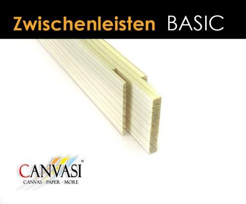 Zwischenleisten - für Basic Keilrahmenleisten - FSC zertifiziert Größe 100cm