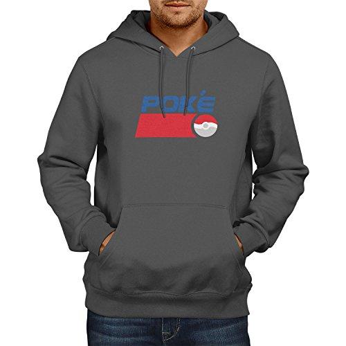 TEXLAB - Poke Soft Drink - Herren Kapuzenpullover, Größe L, (Mann Pepsi Kostüm)