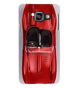 Fuson Designer Back Case Cover for Samsung Galaxy A7 (6) 2016 :: Samsung Galaxy A7 2016 Duos :: Samsung Galaxy A7 2016 A710F A710M A710Fd A7100 A710Y :: Samsung Galaxy A7 A710 2016 Edition (Red Red car Red Sports Car Stunning Car Race Car)