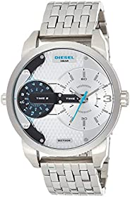 Diesel Mens Quartz Watch, Analog Display and Stainless Steel Strap DZ7305