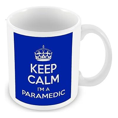 Keep Calm I'm a Paramedic (Blue) Mug