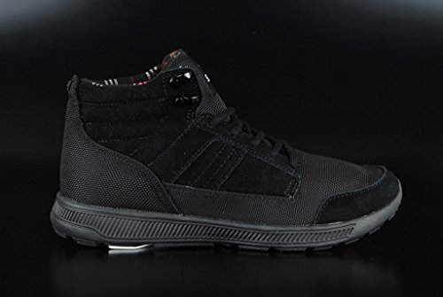 Supra Bandito, Sneakers Hautes mixte adulte Noir (BLACK / BLACK - BLACK BBB)