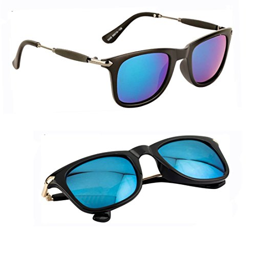 Elligator Stylish Wayfarer combo of Unisex Sunglasses