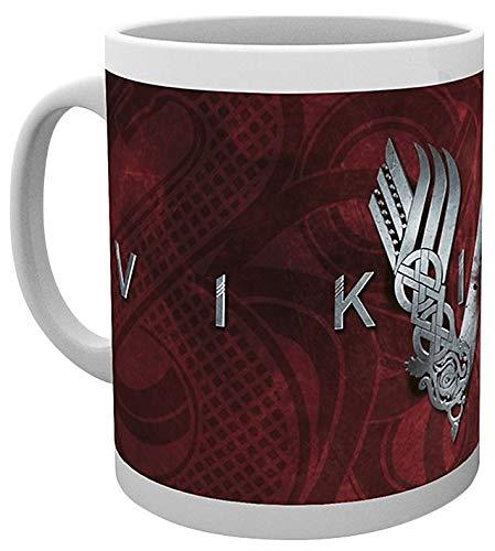 GB Eye, Vikings, Logo, Taza