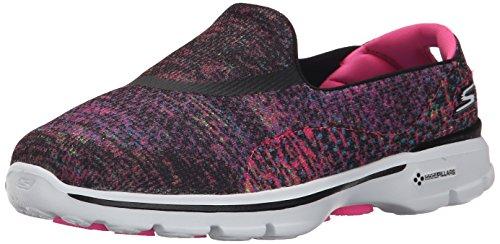 Skechers Women's Gowalk 3 Glisten Low-Top Sneakers, Black (Bkmt), 6 UK 39...