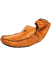 Vee Men's Faux Leather Loafers