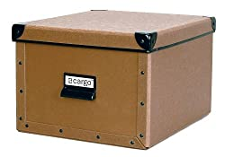 Cargo Naturals Shelf Box, Nutmeg, 7-3/4 by 12-1/2 by 10-1/2-Inch